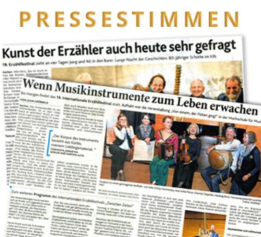 Pressestimmen, Artikel